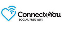 Connect@You social free Wi-Fi provides public hotspots safely